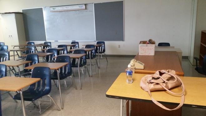 Empty class 3